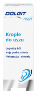 DOLGIT MED krople do uszu  - 10 ML