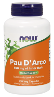 NOW FOODS - Pau D'Arco 500 mg 100 kaps.